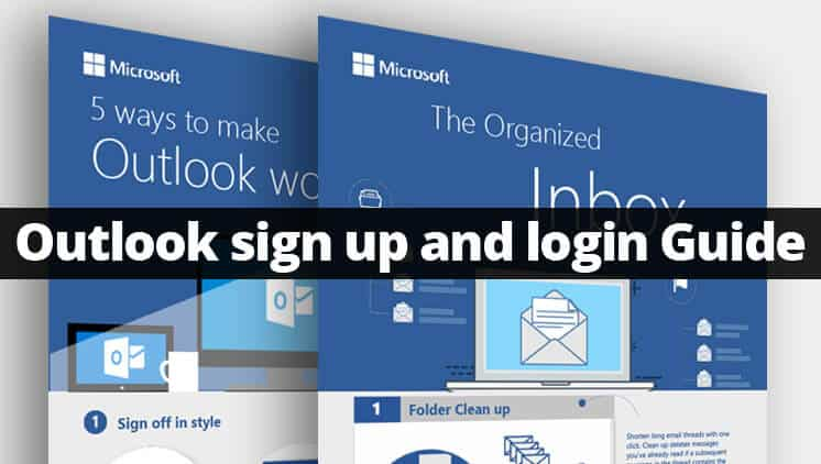 outlook sign up and login create outlook account easily