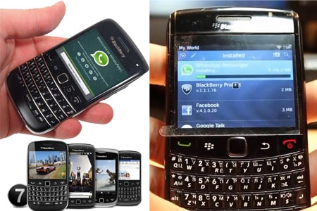 whatsapp blackberry curve