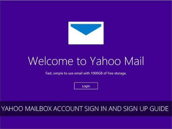 Yahoo Mailbox account sign in and sign up Guide