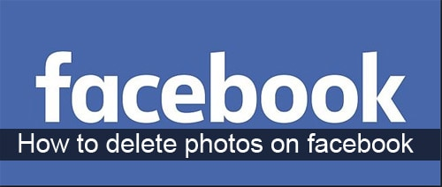 how to delete photos on facebook mobile