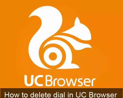 Delete and Set Speed dial in Uc browser COMPLETE