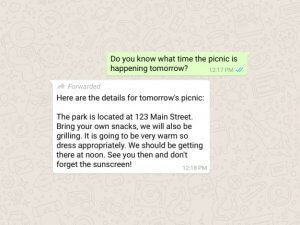 WhatsApp Forwarded Label Feature To Control Fake News