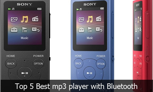 MP3 Players: Top 5 Best MP3 Player with Bluetooth