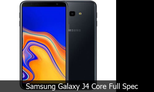 Samsung Galaxy J4 Core Review, Full Specification and price