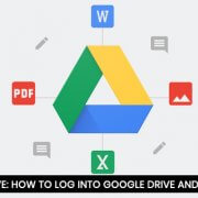 Google Drive - How to Log into Google Drive and Upload Files