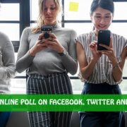 How to Create an Online Poll on Facebook, Twitter and Instagram